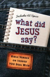 What Did Jesus Say? Bible Verses on Issues You Deal With