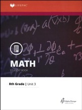 Grade 8 Math LIFEPAC 3: Rational Numbers (Updated Edition)