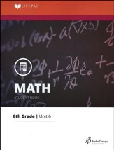 Grade 8 Math LIFEPAC 6: Statistics, Graphs, and  Probability (Updated Edition)