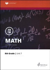 Grade 8 Math LIFEPAC 7: Integers (Updated Edition)