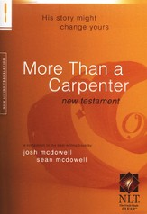 NLT More Than a Carpenter New Testament
