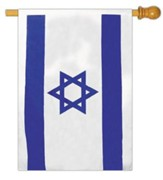 Israeli Flag, Star of David 40 x 60 Blue on white field 40 x 60