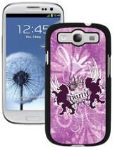 Truth Lion Galaxy 3 Case, Pink