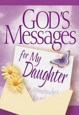 God's Messages for My Daughter Book