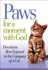 Paws for a Moment with God Devotions Book