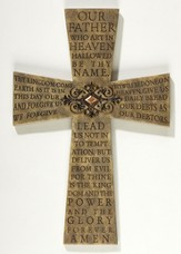 The Lord's Prayer Wall Cross