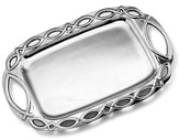 Ichthus Rectangular Metal tray with Handles