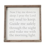 Goodnight Prayer Framed Art