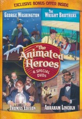 The Animated Heroes: 4 Special DVDs