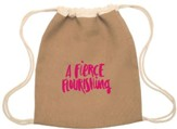 A Fierce Flourishing Drawstring Bag, Mothers Of Preschoolers