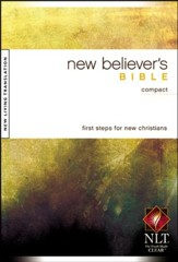 NLT New Believer's Compact Bible, Softcover