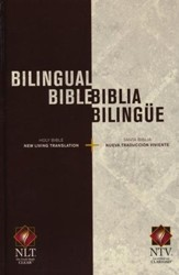 Bilingual Bible / Biblia bilingue NLT/NTV, Hardcover
