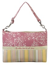 A Mother Loves At All Times, Grab-n-Go Bag, Pink
