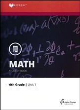 Math Grade 6 LIFEPAC 1: Fractions and Decimals (2015 Updated Version)