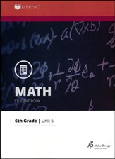 Math Grade 6 LIFEPAC 6: LCM and GCF (2015 Updated Version)