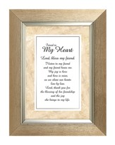 Friend to My Heart Framed Print, 7X9