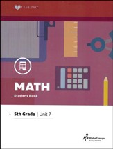Grade 5 Math Lifepac 7: Division and Metric Units  (2016 Updated Edition)