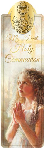 First Communion Bookmark, Girl