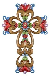 Faith, Family & Friends Wall Cross