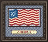 God Bless America Framed Art