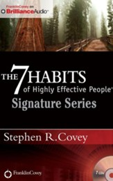 The 7 Habits of Highly Effective People - Signature Series - unabridged audio book on CD