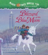 Magic Tree House #36: Blizzard of Blue Moon Unabridged Audiobook on CD