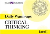 Digital Download Daily Warm-Ups: Critical Thinking Level I - PDF Download [Download]