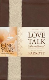 The One Year Love Talk Devotional, Leatherlike