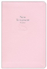 KJV Baby's New Testament and Psalms--bonded leather Pink  - Imperfectly Imprinted Bibles