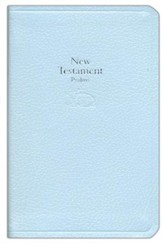KJV Baby's New Testament and Psalms--bonded leather, Blue  - Imperfectly Imprinted Bibles
