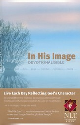 NLT In His Image Devotional Bible, Softcover