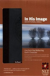 NLT In His Image Devotional Bible, TuTone Leatherlike