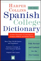 HarperCollins Spanish College Dictionary, 5th Edition