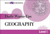 Digital Download Daily Warm-Ups: Geography Level I - PDF Download [Download]
