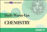 Digital Download Daily Warm-Ups: Chemistry Level II - PDF Download [Download]