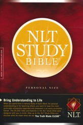 NLT Study Bible, Personal Size Hardcover
