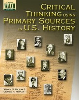 Digital Download Critical Thinking Using Primary Sources in U.S. History - PDF Download [Download]