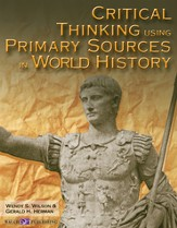 Digital Download Critical Thinking Using Primary Sources in World History - PDF Download [Download]