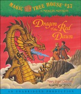 Magic Tree House #37: Dragon of the Red Dawn Unabridged Audiobook on CD