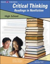 Digital Download Critical Thinking: Readings in Nonfiction (High School) - PDF Download [Download]