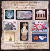 The Mystery of History & Enrichment4You.com, Volume 1 Craft Pak on CD-ROM