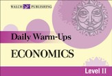 Digital Download Daily Warm-Ups: Economics Level II - PDF Download [Download]