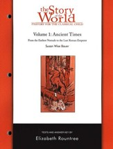 Story of the World, Vol. 1: Ancient Times Test Book, Revised