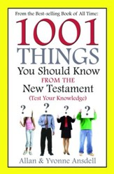 1001 Things you Should Know from the New Testament - eBook