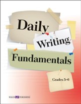 Digital Download Daily Writing Fundamentals, Grades 5-6 - PDF Download [Download]