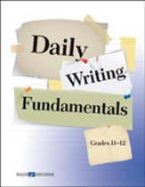 Digital Download Daily Writing Fundamentals, Grades 11-12 - PDF Download [Download]