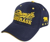Strength and Courage, Bear Cap, Navy