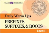 Digital Download Daily Warm-Ups: Prefixes, Suffixes, & Roots Level II - PDF Download [Download]