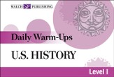 Digital Download Daily Warm-Ups: U.S. History Level I - PDF Download [Download]