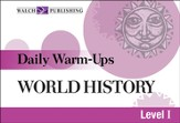 Digital Download Daily Warm-Ups: World History Level I - PDF Download [Download]